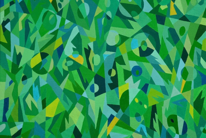 Green Gumby 36 X 36