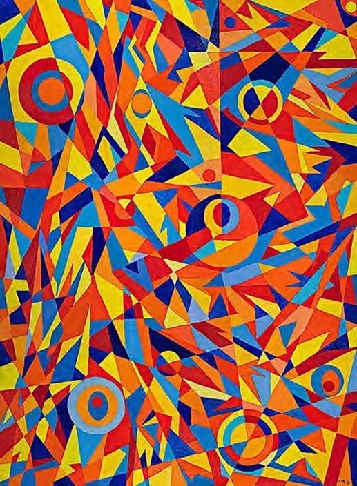 kaleidoscope 30 x 40